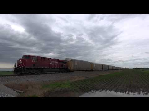 BNSF Marceline Sub and NS Transcon Part 2