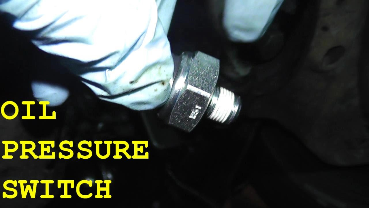 hight resolution of nissan maxima infiniti oil pressure switch replacement hd