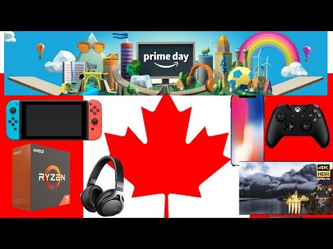 Tech Deals For Canadian Amazon Prime Day