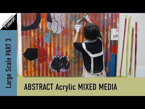 071 - Pamela Caughey - Acrylic Mixed Media - Large Scale