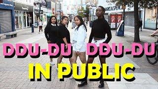 [AZIZA] K-POP IN PUBLIC @ Kingston Upon Thames | BLACKPINK - 뚜두뚜두 (DDU-DU DDU-DU) dance cover