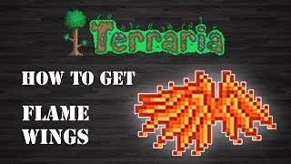 "Terraria : "" Flame Wings "" [How To Get] [Step by Step]"
