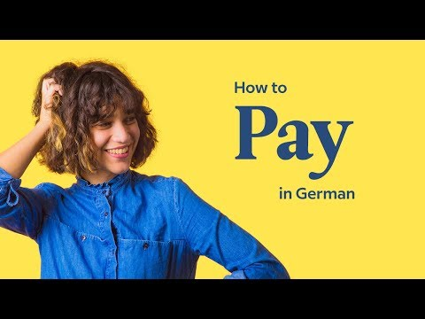 How To Pay The Bill In German | German In 60 Seconds