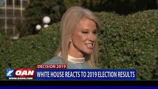 White House reacts to 2019 election results