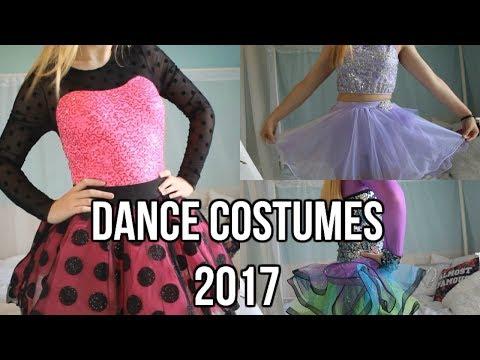 Dance Costumes 2017! | HannahLeigh J