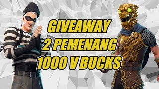 Day # 4 move from Controller to Keyboard | Fortnite Indonesia | Giveaway Vbucks