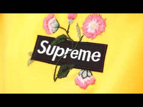 DIY Supreme embroidered Hoodie | Embroidery Tutorial | dapper alien