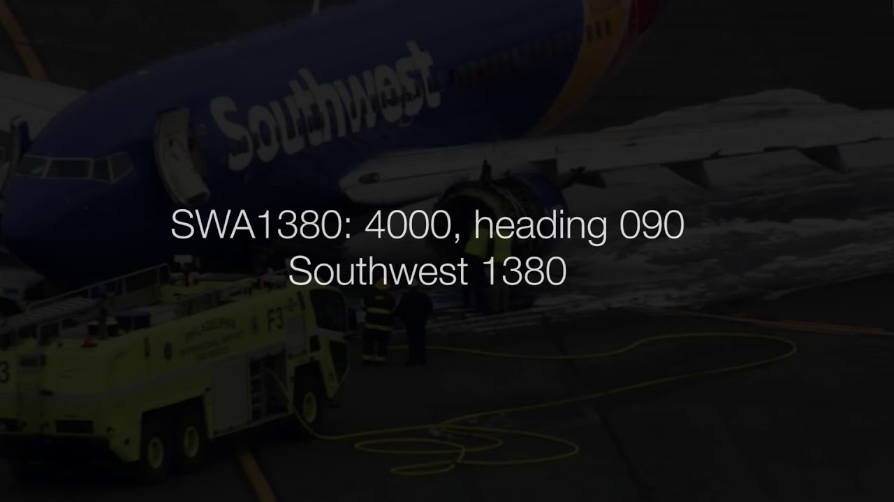 Southwest 1380 (engine failure 4/17/2018) ENTIRE EVENT: actual multi-sector  ATC audio