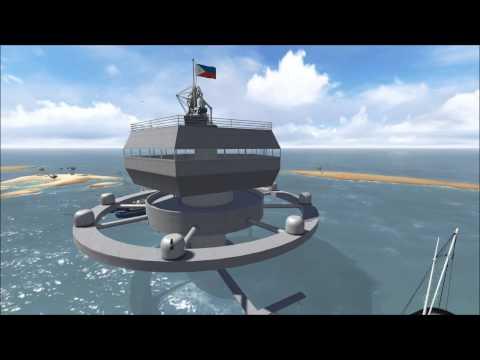Philippine Island Defense/Fisherman Relief Structure