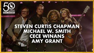 Steven Curtis Chapman, Michael W  Smith, CeCe Winans, \u0026 Amy Grant (50th Dove Awards)