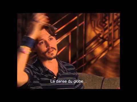 Chaplin vu par Johnny Depp
