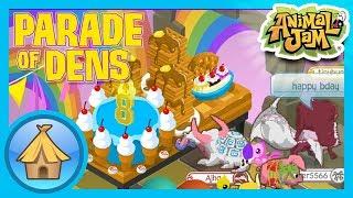 Birthday Dens! | Animal Jam - Parade of Dens!