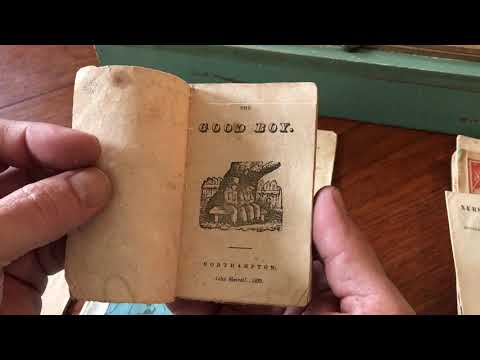 Chapbooks 1820-50's collection x10 rare early children's books w/ woodcuts