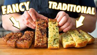 Perfect Homemade Garlic Bread (3 Ways)
