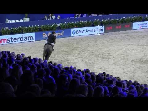 Gerco  Schröder - Glock´s Dobelensky -  Barrage Jumping Amsterdam, 29-1-2017
