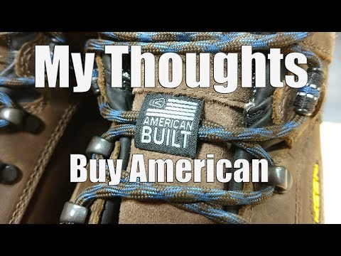 My Experience with American Built KEEN Utility Braddock Shoes