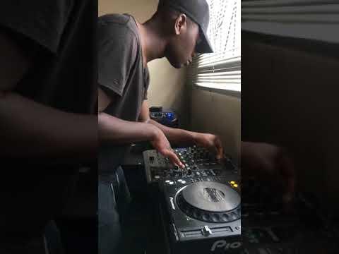 DJ Maphorisa & DJ Shimza Feat. MoonChild - Makhe#THEOLOGYHD MIXING LIVE