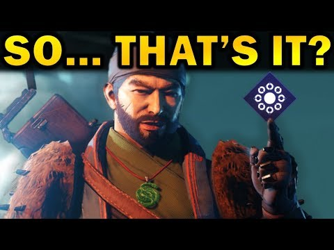 Destiny 2: So... That's It? | Season of the Drifter Review thumbnail
