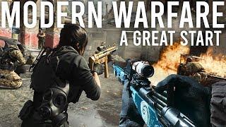 Modern Warfare is off to a great start