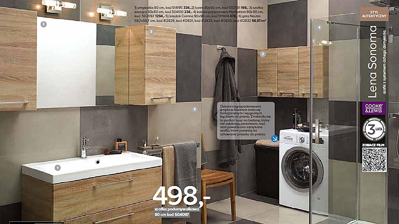 Katalog Castorama 2016 łazienki