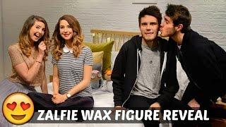 ZALFIE WAX FIGURE REVEAL(ZALFIE WAX FIGURE REVEAL ▻ New Video • http://bit.ly/1KvxHNL ▻ Previous Day • http://bit.ly/1FIdVm8 -----------------------------------------------------------------------., 2015-09-30T16:00:02.000Z)