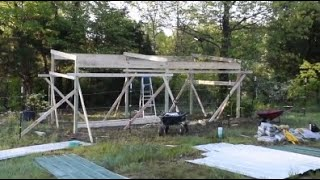 Buying a Cow Part 1: 3 Days to Build a Barn