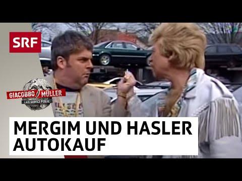 Mergim Muzzafer kauft ams krasses Auto vom Harry Hasler   Giacobbo  Müller
