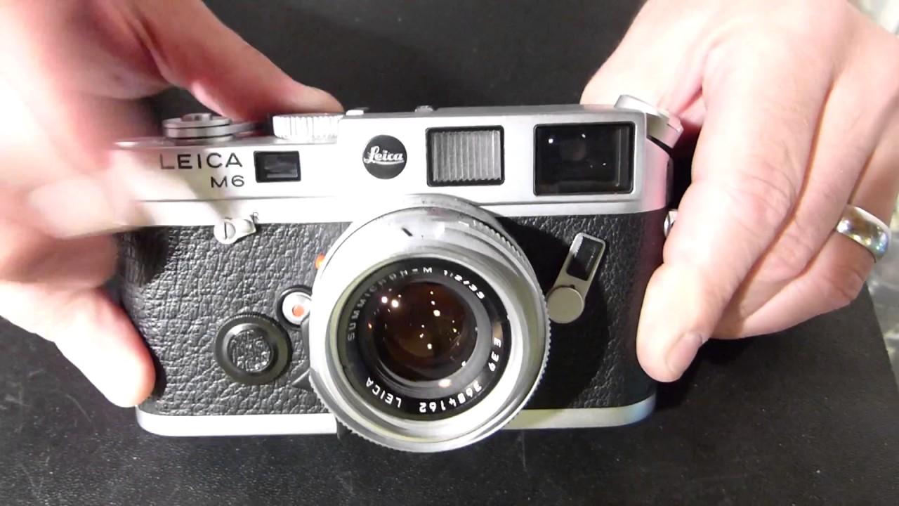 How to unload the modern Leica M film cameras - M4 M6 M7 MP - Tamarkin  Camera