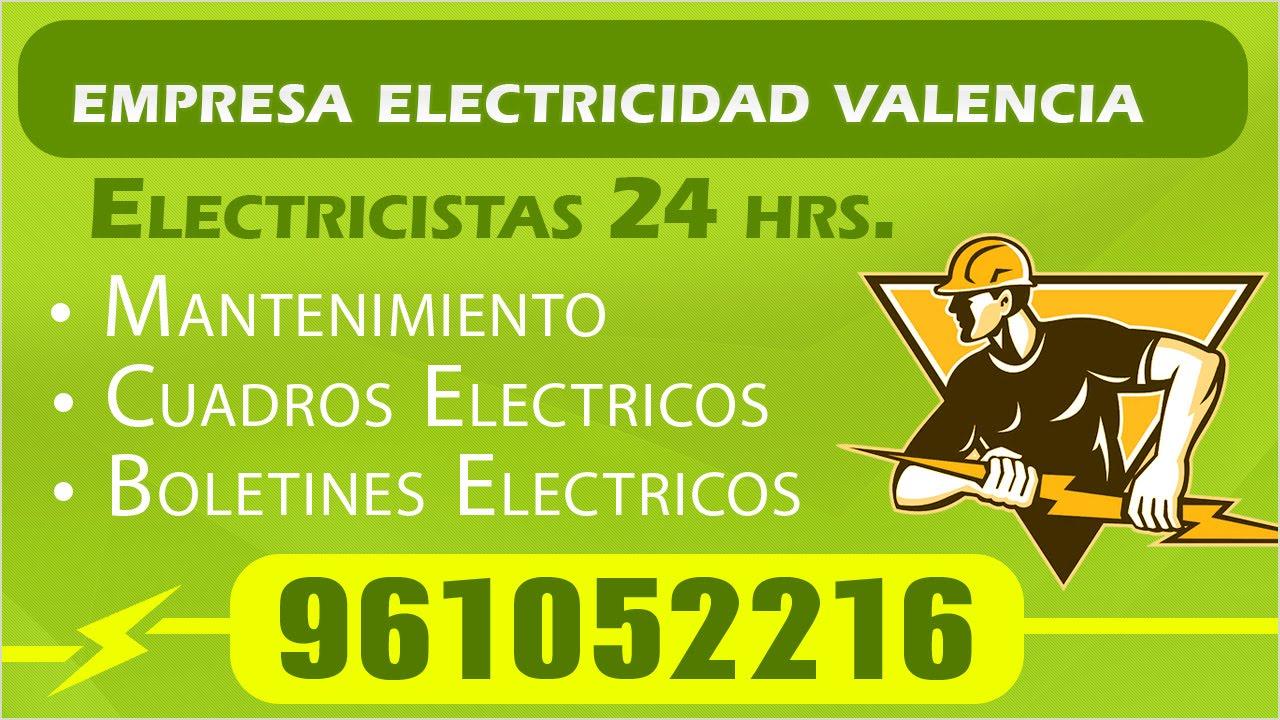 Electricistas valencia pca electricidad youtube - Electricistas valencia ...