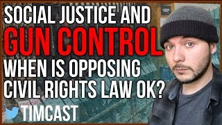 Violating Civil Rights Law as a form of Gun Control