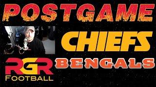 LIVE Postgame - Kansas City Chiefs vs Bengals | Patrick Mahomes Kareem Hunt + Defense NFL 2018