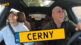 Václav Cerny - Bij Andy in de auto! (English subtitles)