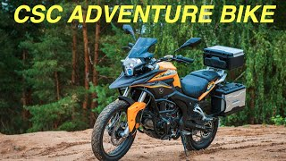 Affordable adventure bikes by CSC motorcycles :Overland Expo 2015