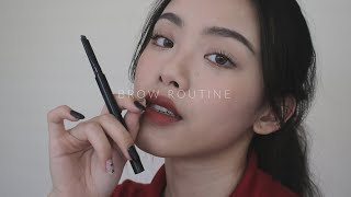 MY BROW ROUTINE (with subs) / hyulari