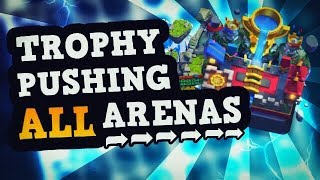 ULTIMATE Guide to Trophy Pushing At EVERY Arena! (Tips & Tricks)