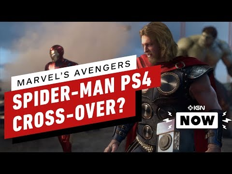 Does the Avengers Game Setup a Spider-Man Cross-over? - IGN Now