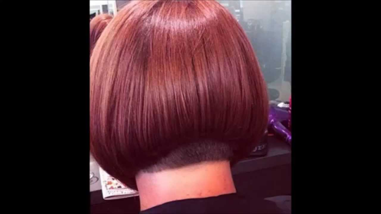 Hair Makeover Shoulder Length To Buzzed Nape Bob Haircut Youtube
