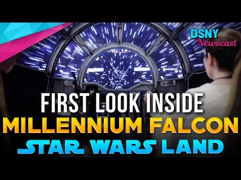 FIRST LOOK Inside Millennium Falcon Ride coming to Disney Parks - Disney News - 9/27/18