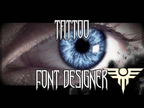 Tattoo Font Designer Free Fonts In Your Phone Apps On