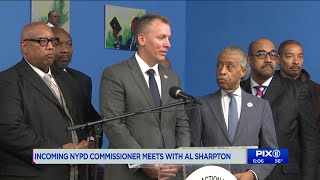 Community leaders meet with incoming NYPD commissioner as new video of subway incident emerges