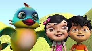 Download Chidiya Rani Badi Sayani | 3D Rhymes In Hindi | चिड़िया रानी | Kids Channel India | Hindi Rhyme