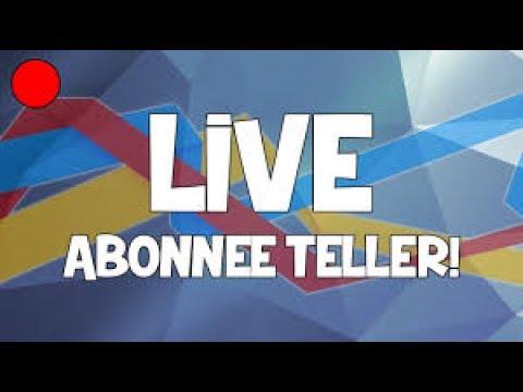 live abonee teller - youtube