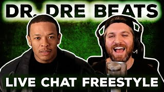 Harry Mack 1 HOUR Freestyle Over DR. DRE BEATS - LIVE Chat Freestyle | Wordplay Wednesday #71