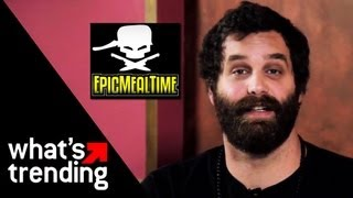 Epic Meal Time 2 Year Anniversary + Epic Chef Set Visit | EXCLUSIVE