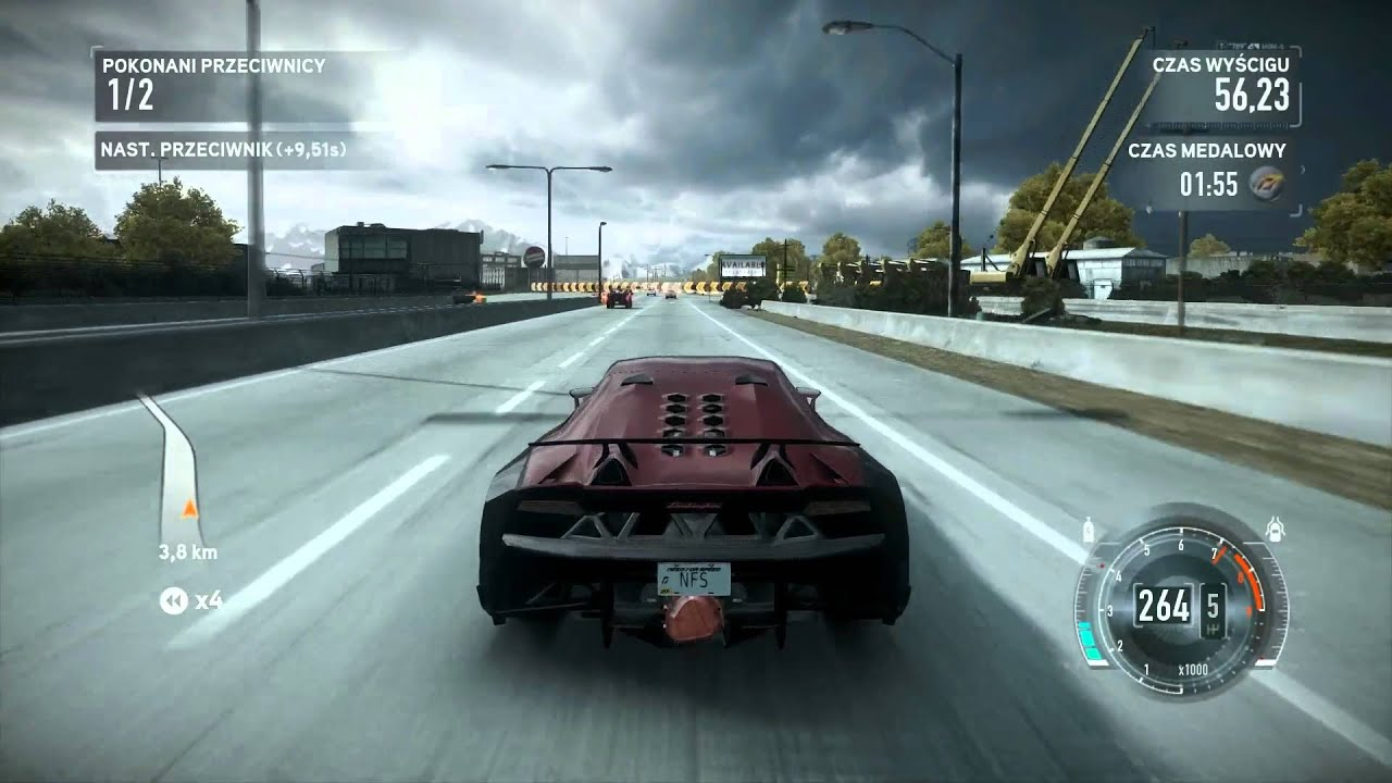 Hd Nfs Cars Wallpapers Need For Speed The Run Lamborghini Sesto Elemento By