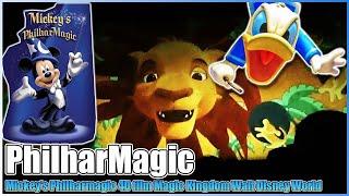 mickey s philharmagic 4d film attraction magic kingdom walt disney world 2012 hd 3d to 2d version