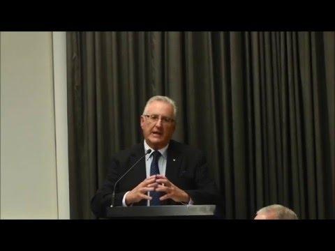 Dr Ken V Loughnan AO Building a global charity