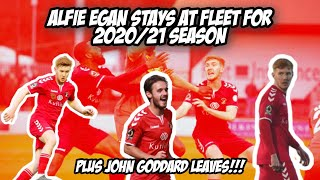 ALFIE EGAN SIGNS A NEW 1 YEAR CONTRACT | My Thoughts And Opinions!!?? |