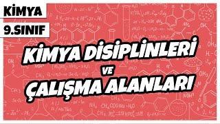 9. Sınıf Kimya - Kimya Disiplinleri ve Çalışma Alanları  2021