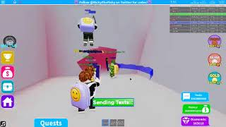 *MUST SEE* Charging the Battery in ROBLOX Texting Simulator to 100 %!